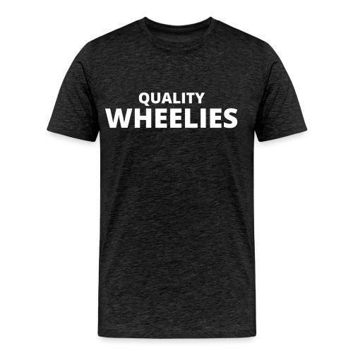 Quality Wheelies Hoodie Front - Premium T-skjorte for menn