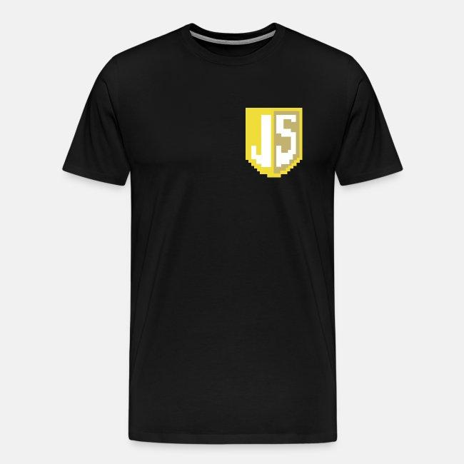 JavaScript Pixelart logo