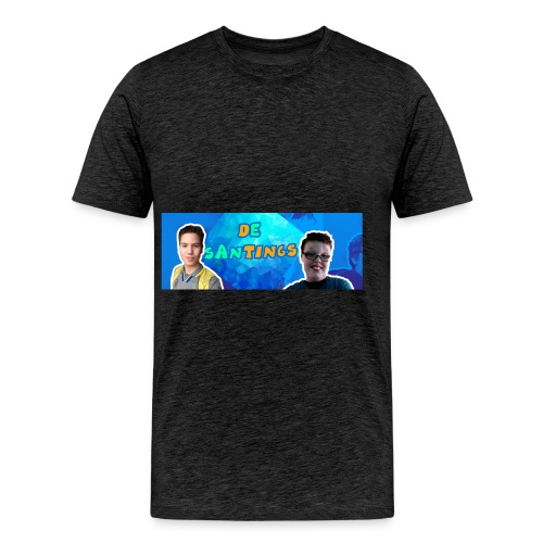 De Santings Banner Design - Mannen Premium T-shirt