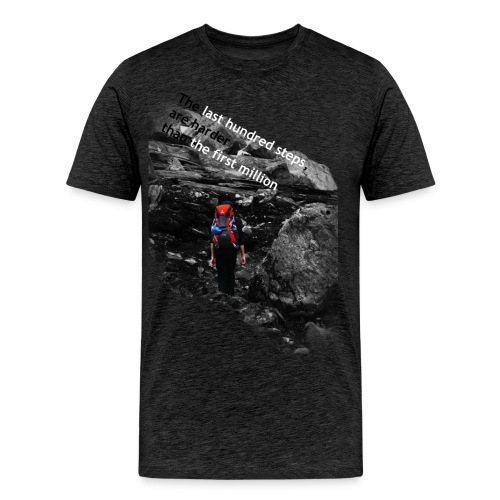 text png - Men's Premium T-Shirt