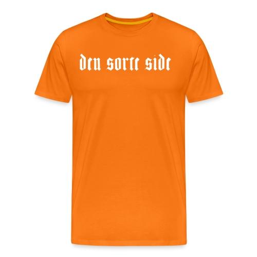dss_tryk_white - Herre premium T-shirt