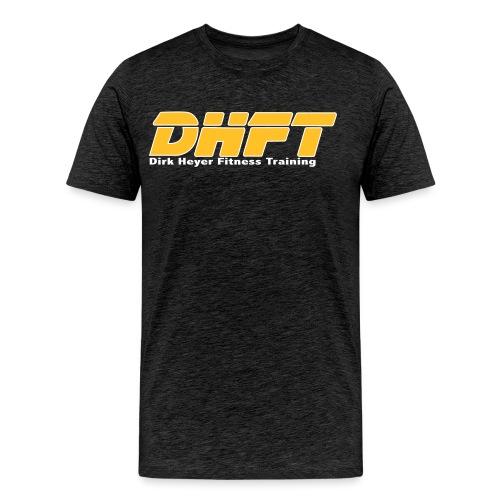 DHFT Red Black big - Männer Premium T-Shirt