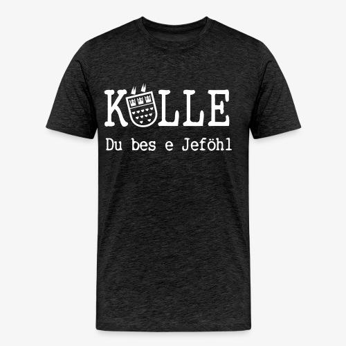 Kölle Do bes e Jeföhl - Köln, Alaaf, Dom VECTOR - Männer Premium T-Shirt