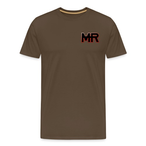 MR logo - Herre premium T-shirt
