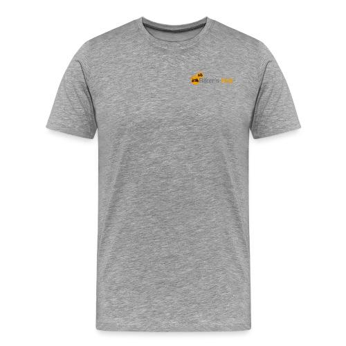 Biker's Hub Small Logo - Men's Premium T-Shirt