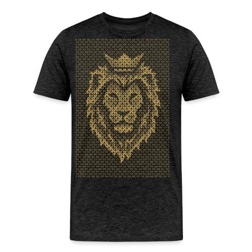 Lion Crown - Men's Premium T-Shirt