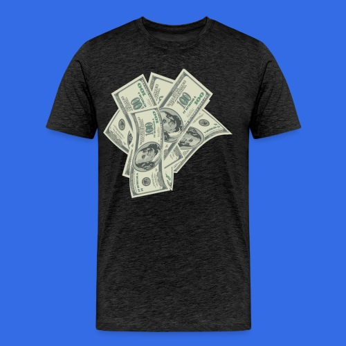 more money - Men's Premium T-Shirt