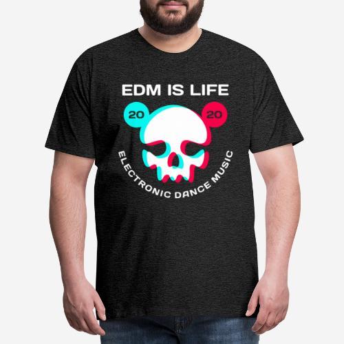 edm electronic dance music - Männer Premium T-Shirt