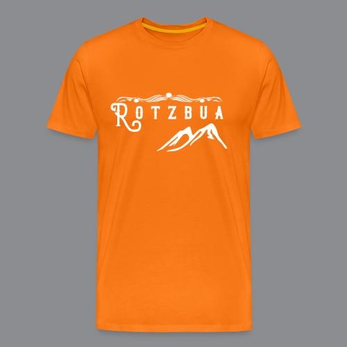 Rotzbua Weiß - Männer Premium T-Shirt