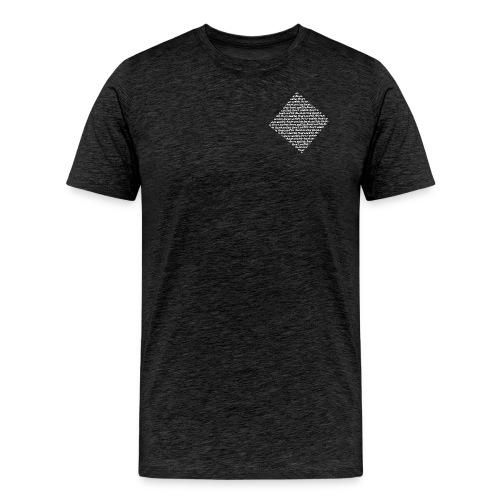 lowA schrift schräg weiss - Männer Premium T-Shirt