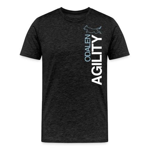 odalen agility blue1 - Men's Premium T-Shirt