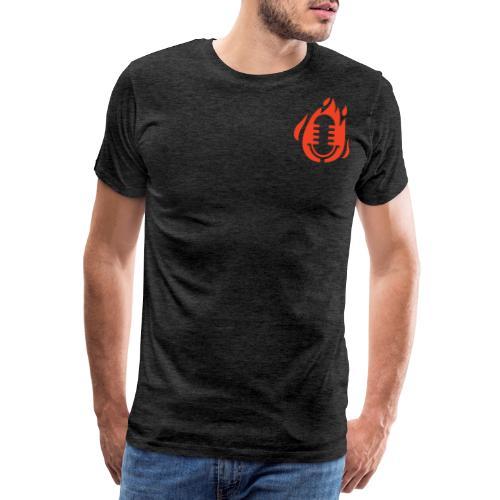 Fire Mikro Design - Männer Premium T-Shirt