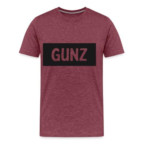 Gunz - Herre premium T-shirt