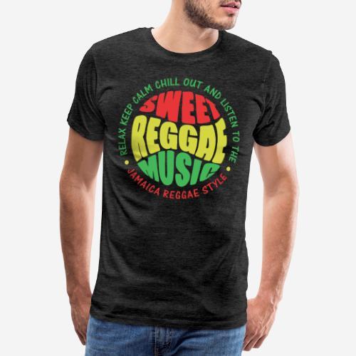 relax chill reggae music jamaica - Männer Premium T-Shirt
