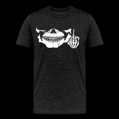 DJ SKULL LOGO - T-shirt Premium Homme