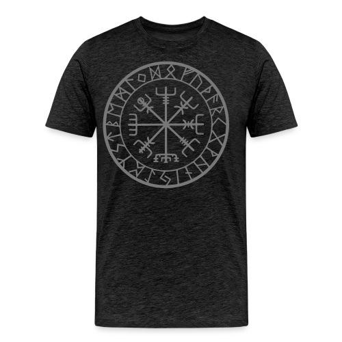 viking vegvisir runen - Mannen Premium T-shirt