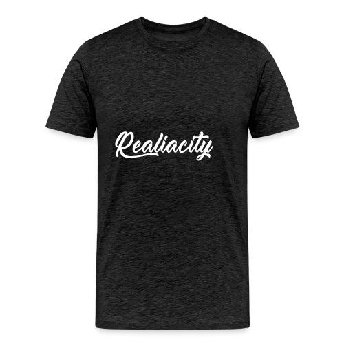 Realiacity Logo - Camiseta premium hombre