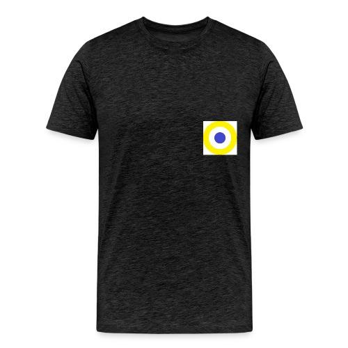 1280px-_roundel_svg - Premium-T-shirt herr
