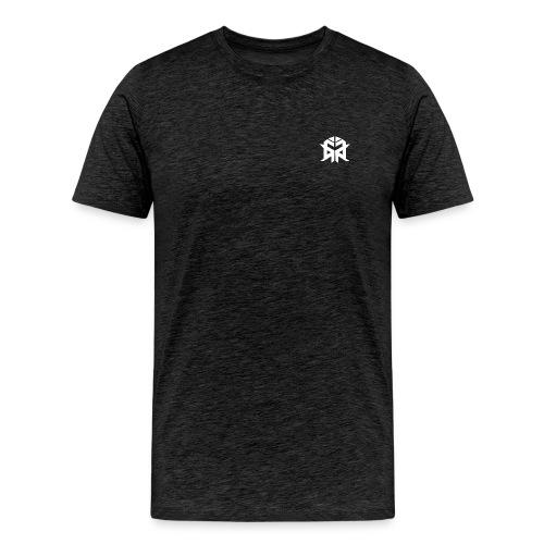 Lunatix Logo - White - Men's Premium T-Shirt