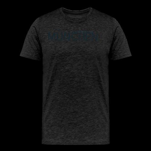 München Logo mit Skyline - Männer Premium T-Shirt