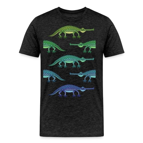 crokolores - Camiseta premium hombre