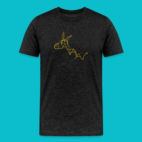 catala jaune - T-shirt Premium Homme