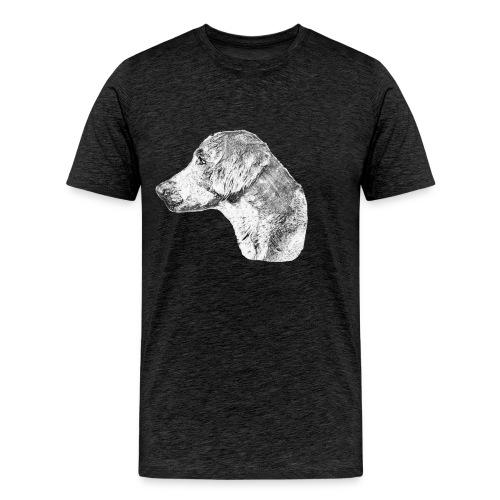 Langhaar Weimaraner - Männer Premium T-Shirt