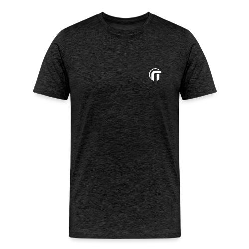Logo Nowtech blanc - T-shirt Premium Homme