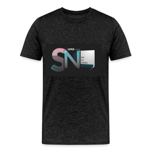 SUPERname We try Harder - Men's Premium T-Shirt