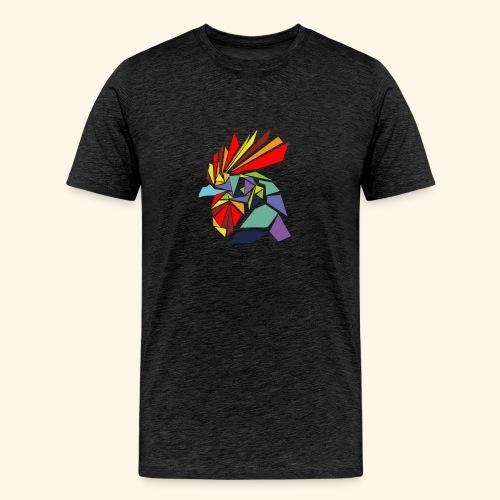 Abstrakter Hahn - Männer Premium T-Shirt