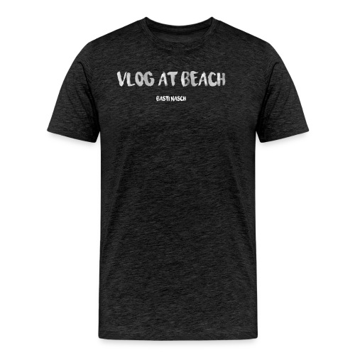 vlog at beach - Männer Premium T-Shirt