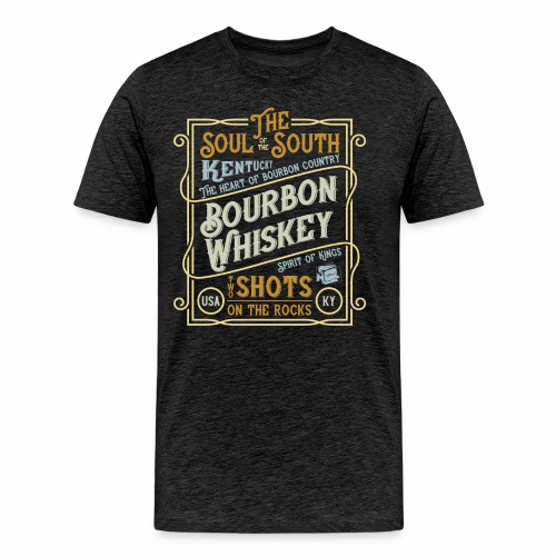 Bourbon Whiskey - Männer Premium T-Shirt