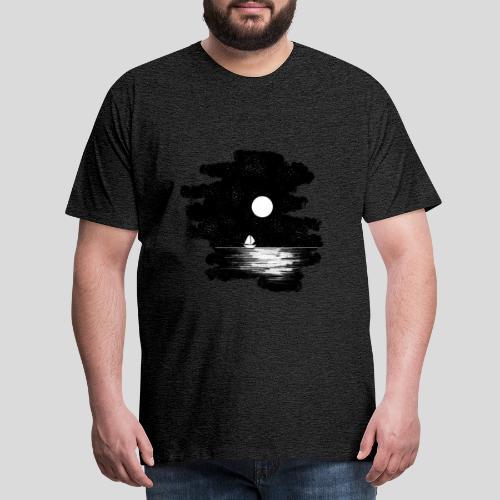 Mond Nacht - Männer Premium T-Shirt