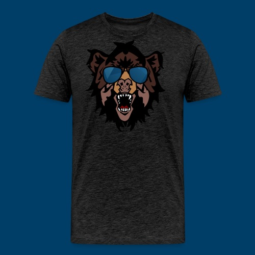 The Grizzly Beast - Men's Premium T-Shirt