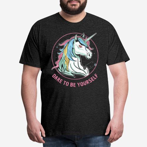 unicorn dare utopia - Männer Premium T-Shirt