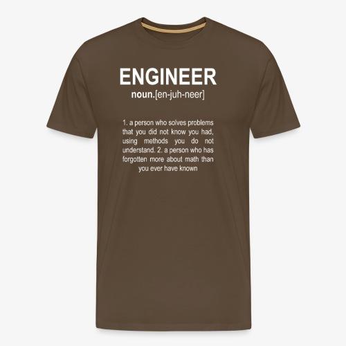 Engineer Def. 2 - T-shirt Premium Homme