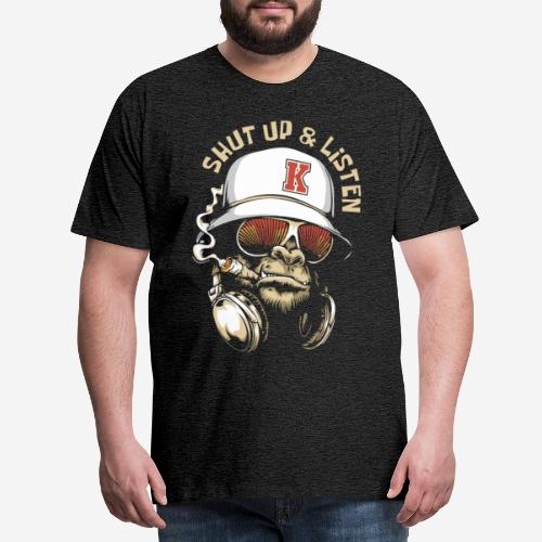 Gorillamusik - Männer Premium T-Shirt