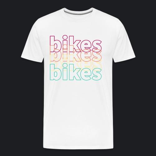 BIKES BIKES BIKES - Männer Premium T-Shirt