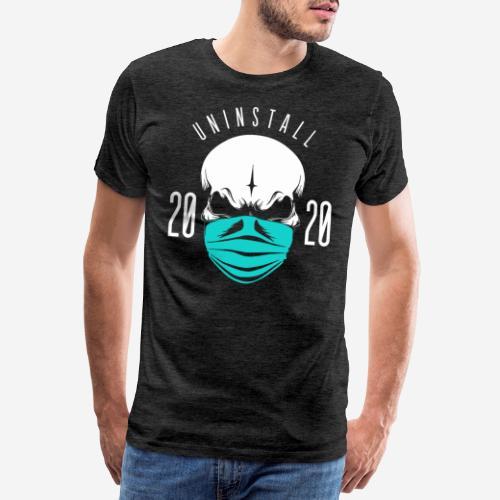 2020 deinstallieren - Männer Premium T-Shirt