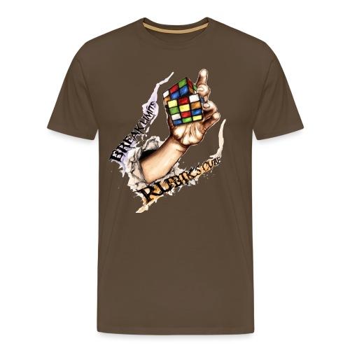 Rubik's Break Limits - Men's Premium T-Shirt