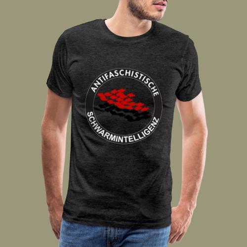 Antifaschistische Schwarmintelligenz - Männer Premium T-Shirt