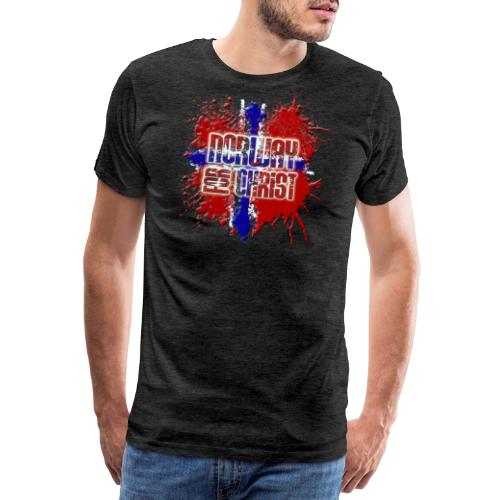 Norway for CHRIST - Men's Premium T-Shirt