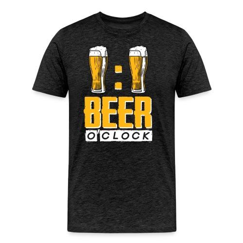 BEER O'Clock - Männer Premium T-Shirt