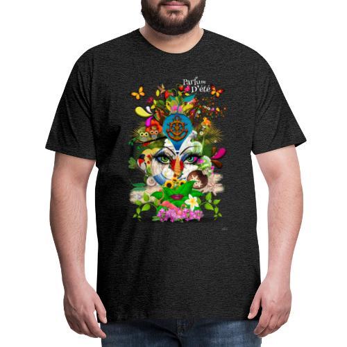 Parfum d'été by T-shirt chic et choc (tissu foncé) - T-shirt Premium Homme