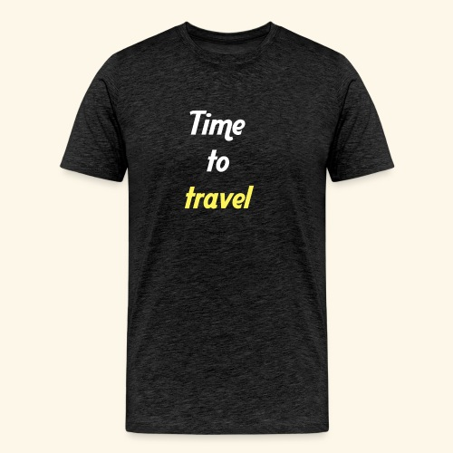 Time to travel - T-shirt Premium Homme