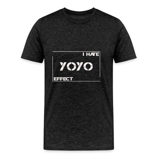 I hate YOYO Effect - Männer Premium T-Shirt