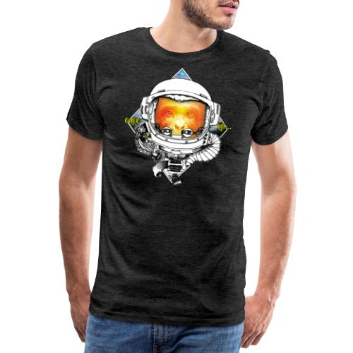 Ape meats Alien - Männer Premium T-Shirt