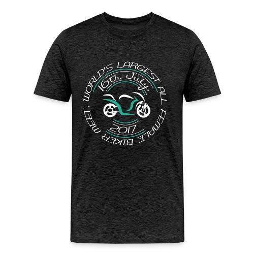 blacktshirt logo png - Men's Premium T-Shirt