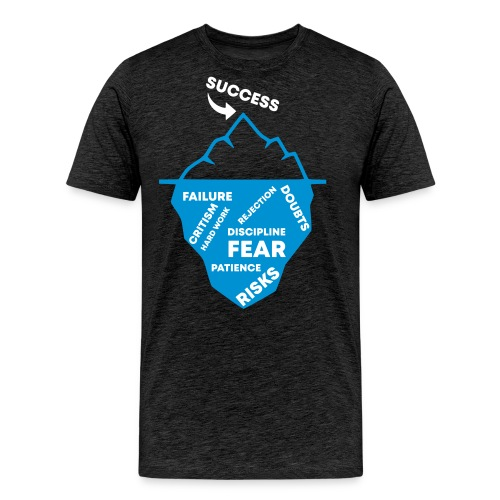 THE ICEBERG OF SUCCESS - UNDER THE SURFACE - Männer Premium T-Shirt