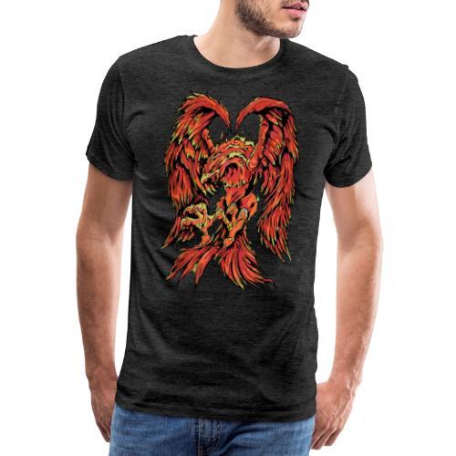Fire Phoenix - Men's Premium T-Shirt